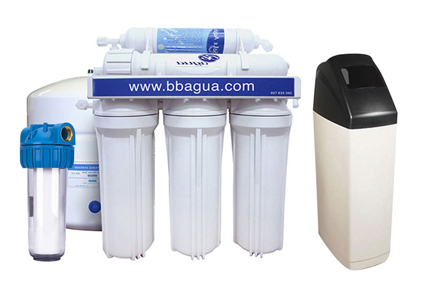 Descalcificador y equipo de smosis bbagua pack - Descalcificador de agua domestico ...