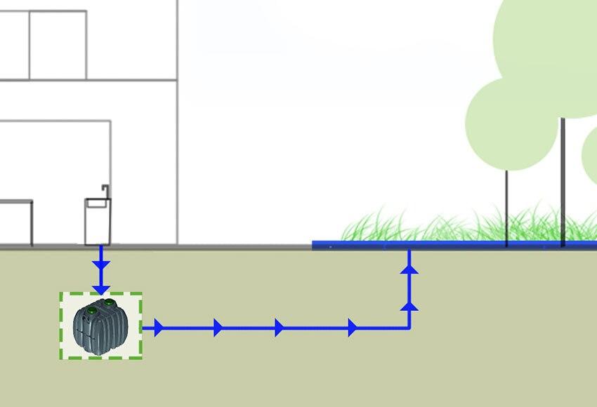 Depuradora dom stica epurbloc 4000l ref 17920826 leroy - Depuradora agua domestica ...