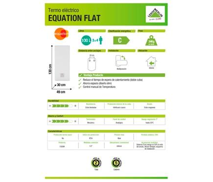 Equation Termo eléctrico Flat