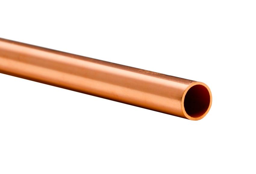 Tubo de cobre 12 mm 1 m ref 13325291 leroy merlin for Tubo irrigazione leroy merlin