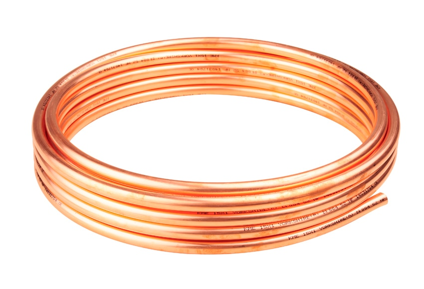 Rollo de cobre 15 mm 35 m ref 17029936 leroy merlin - Tuberias de cobre ...