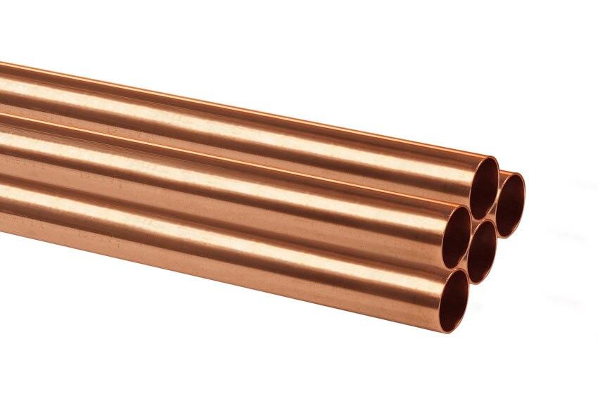 Tubo de cobre 22 mm 1 m ref 17946166 leroy merlin for Tubo irrigazione leroy merlin
