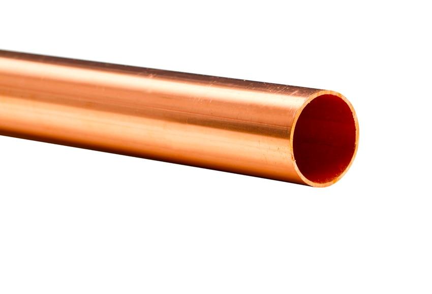 Tubo de cobre de 22 mm 2 m ref 18375252 leroy merlin - Precio de tuberia de cobre ...