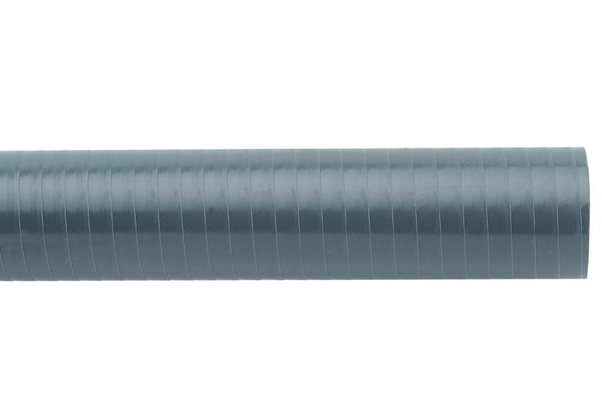 Tubo flexible pvc evacuaci n al corte 50 mm ref 10582670 for Tubo irrigazione leroy merlin
