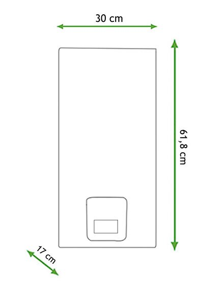 Calentador de gas butano bosch 15l ctd e31 ref 17066105 for Regulador de gas butano leroy merlin