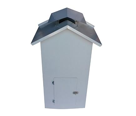 Caseta cubre calentador de 11 litros caseta cubre for Caseta resina leroy merlin