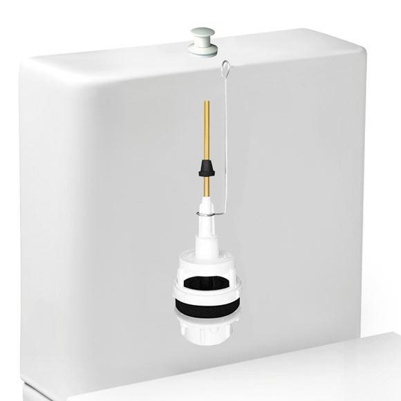 Descargador de cisterna alta ref 14968786 leroy merlin for Wc sin agua