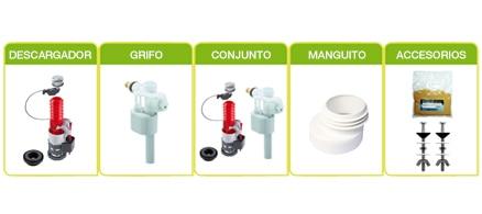 Hoza acogedora personales mecanismo cisterna gala for Cambiar mecanismo cisterna