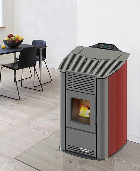 Estufa de pellets de aire last calor zeta ref 15955506 - Estufa de calor ...