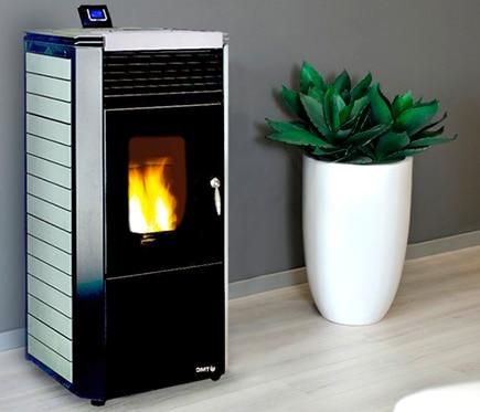 Leroy merlin estufas de pellet best ambiente con estufa de pellet watt canalizada with comprar - Bricor badajoz ...