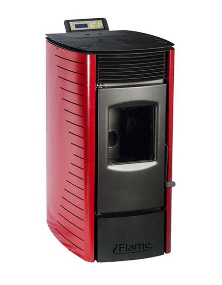 estufa de pellets de aire iflame 10 ref 17917816 leroy. Black Bedroom Furniture Sets. Home Design Ideas