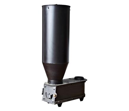 Estufa de acero policombustible ecoloma hueso pellet 12 kw for Pellets leroy merlin