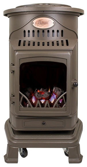 Estufa de gas de llama real fireside provence ref - Estufa gas radiante ...