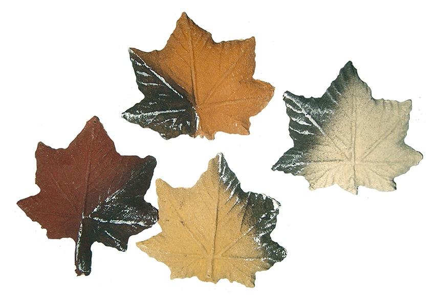 4 unidades de hojas cer micas purline hojas arce ref for Arce ceramicas