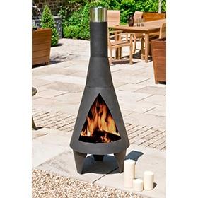 chimenea de acero la hacienda colorado extra large
