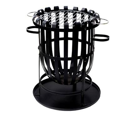 brasero de acero la hacienda vancouver ref 17327072 leroy merlin. Black Bedroom Furniture Sets. Home Design Ideas