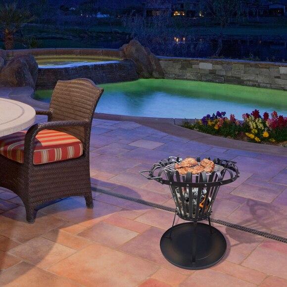 brasero climacity circular efp2 ref 17422104 leroy merlin. Black Bedroom Furniture Sets. Home Design Ideas