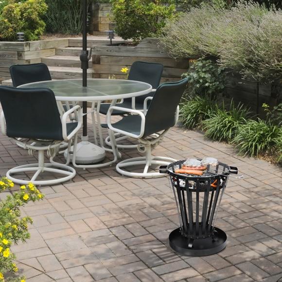 brasero climacity circular efp6 ref 17422132 leroy merlin. Black Bedroom Furniture Sets. Home Design Ideas