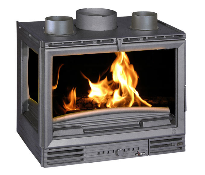 insert de hierro fundido invicta 6679 3 caras ref 13096986 leroy merlin. Black Bedroom Furniture Sets. Home Design Ideas