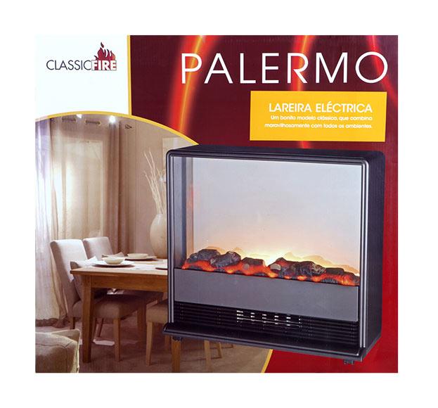 Chimenea el ctrica edco palermo ref 15304506 leroy merlin - Chimeneas elctricas leroy merlin ...