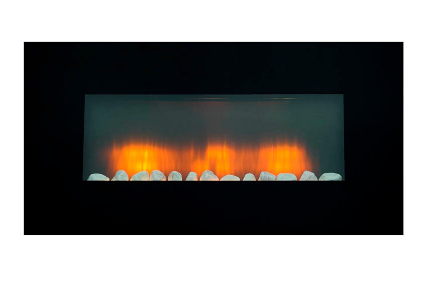 Chimenea el ctrica de pared edco vancouver ref 16548273 - Chimenea electrica leroy merlin ...