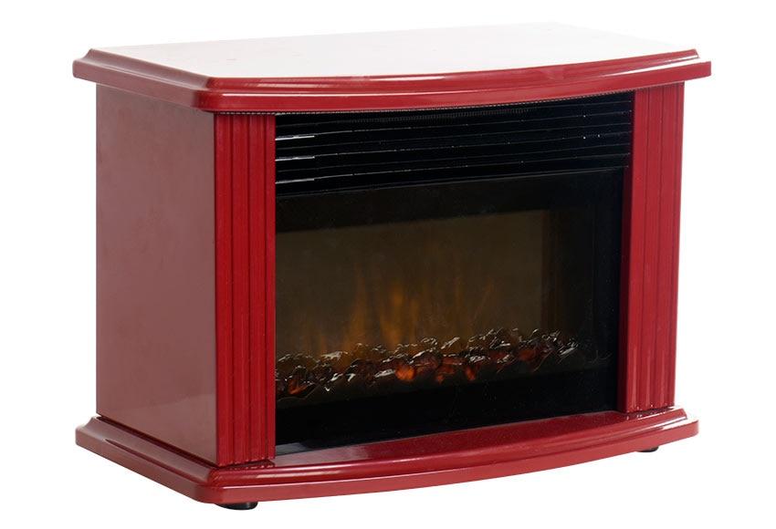 Chimenea el ctrica con mueble edco mini fireplace ref 19042674 leroy merlin - Mueble para chimenea electrica ...