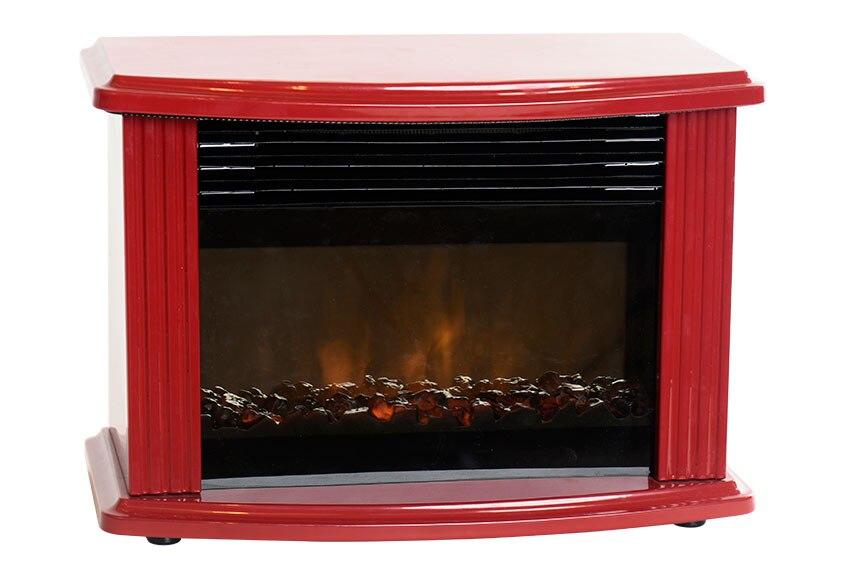 Chimenea el ctrica con mueble edco mini fireplace ref - Chimeneas elctricas leroy merlin ...