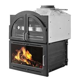 Cocinas y hornos de le a leroy merlin - Chimeneas para hornos de lena ...