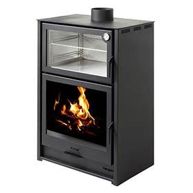 Cocinas y hornos leroy merlin - Estufas de lena para calefaccion con radiadores ...
