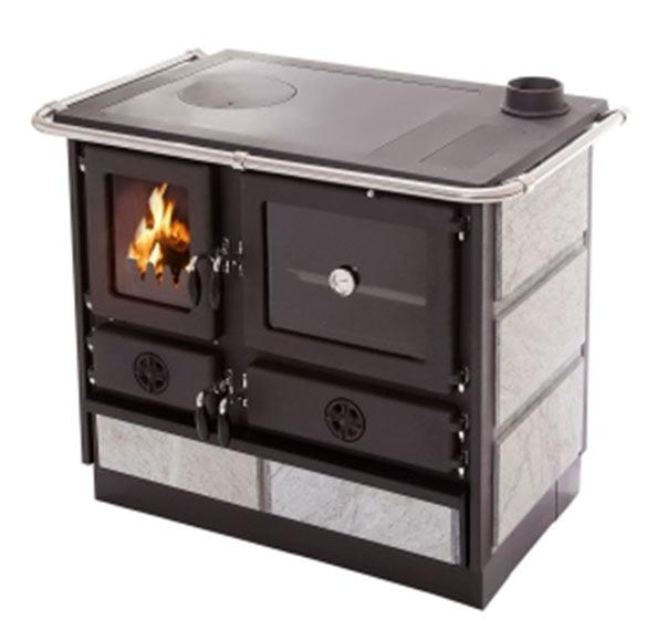 Estufa de hierro fundido con horno climacity malina ref - Estufa de hierro ...