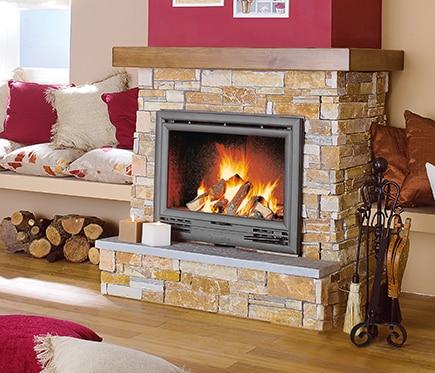 1000 images about chimeneas on pinterest fireplaces - Chimeneas de piedra ...