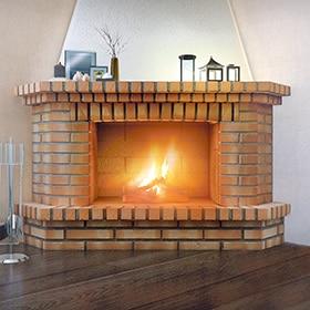 Revestimientos para chimeneas leroy merlin for Construccion de chimeneas de ladrillo