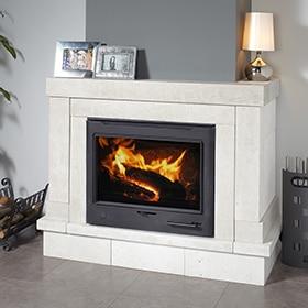 Mi casa decoracion leroy merlin revestimientos chimeneas - Como instalar una chimenea de lena ...