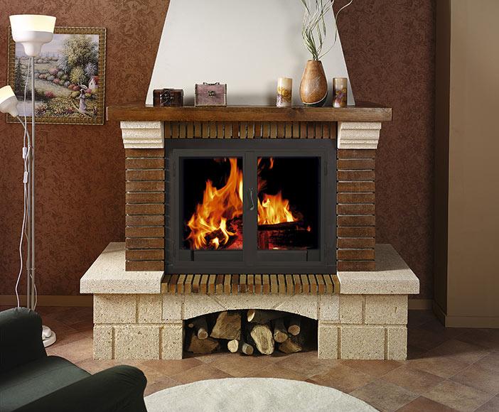 Revestimiento chimenea saliente joyma veleta 80 ref - Revestimientos de chimeneas ...