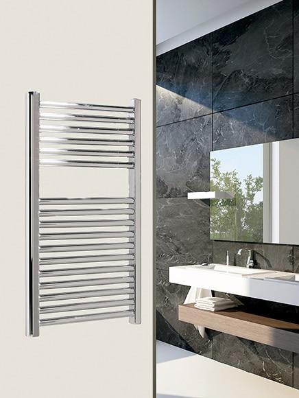 Radiador toallero de agua rc azores 55 cromado ref - Radiador toallero agua leroy merlin ...