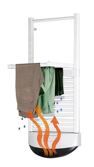 radiador toallero el ctrico green d air stylo ref. Black Bedroom Furniture Sets. Home Design Ideas