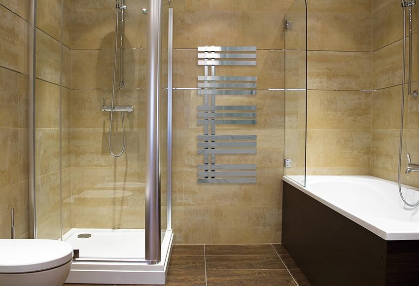Radiador toallero decorativo de agua cicsa zeta verona - Toalleros de agua ...