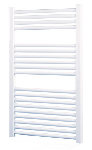 Radiador toallero de agua cicsa zeta x blanco 1120 agua - Toalleros de agua ...