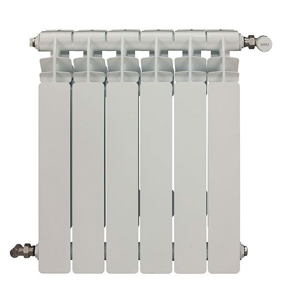 Radiador de aluminio de 6 elementos baxi mistral 60 ref - Elementos de radiadores ...