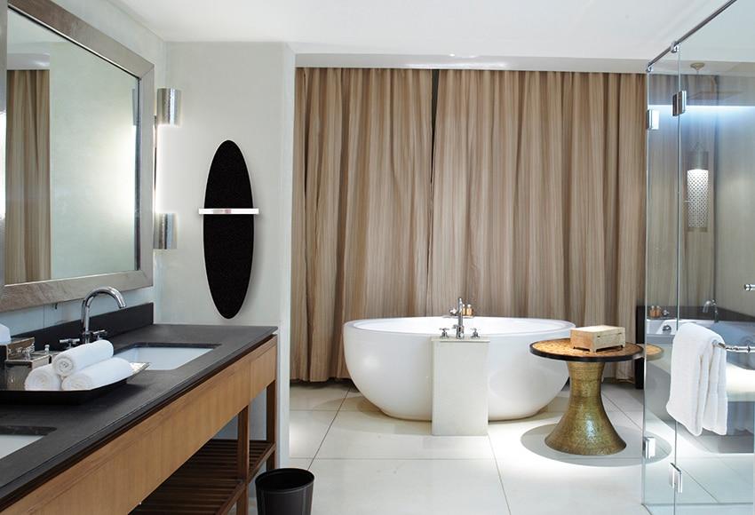Radiador toallero de agua decorativo cicsa zeta flat ovalo - Radiador toallero agua leroy merlin ...