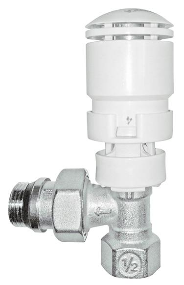 V lvula termost tica roca ref 11354665 leroy merlin - Valvula termostatica radiador ...