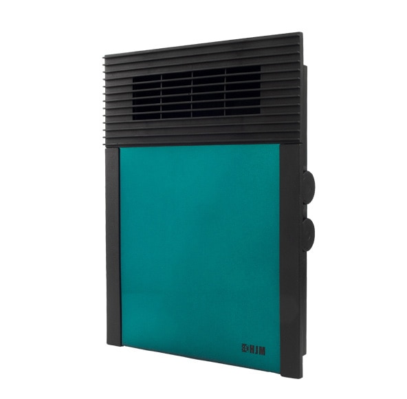 Calefactor vertical hjm 638v 2000w verde ref 14880712 for Calefaccion infrarrojos leroy merlin