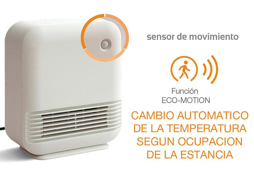 Calefactor cer mico navia sensor movimiento ref 19370176 for Luz con sensor de movimiento leroy merlin
