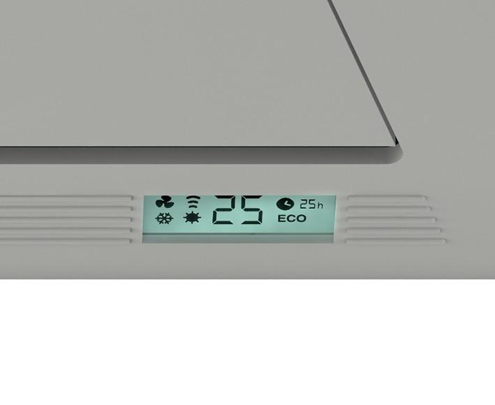 Calefactor de pared olimpia olimpia radical twin ref - Calefactores de bano ...
