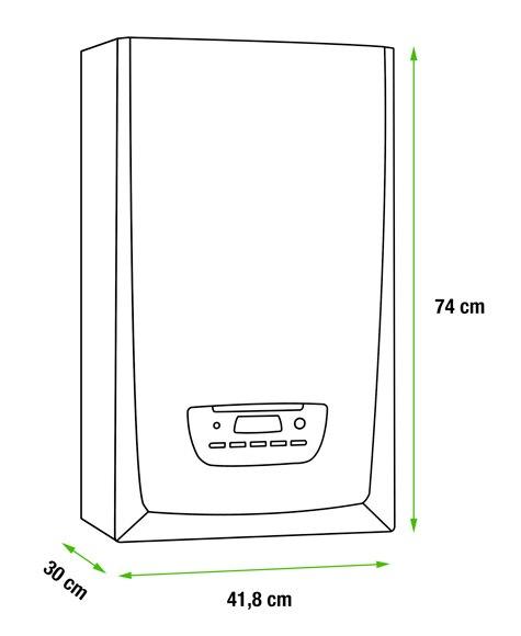 Caldera de condensaci n saunier duval themafast condens 30 for Termostato gsm leroy merlin