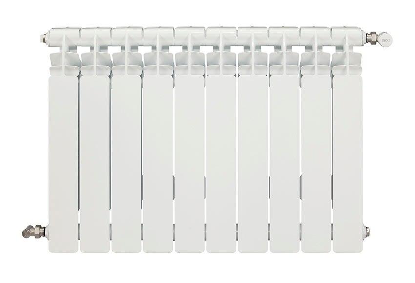 Radiador de aluminio de 10 elementos baxi mistral 45 ref - Calefaccion radiadores de agua ...