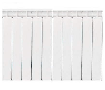 Radiador de aluminio de 10 elementos baxi mistral 60 ref - Elementos de radiadores ...