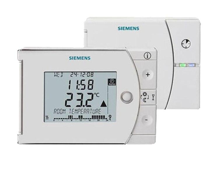 Cronotermostato Siemens Rev24rf Ref 13978552 Leroy Merlin