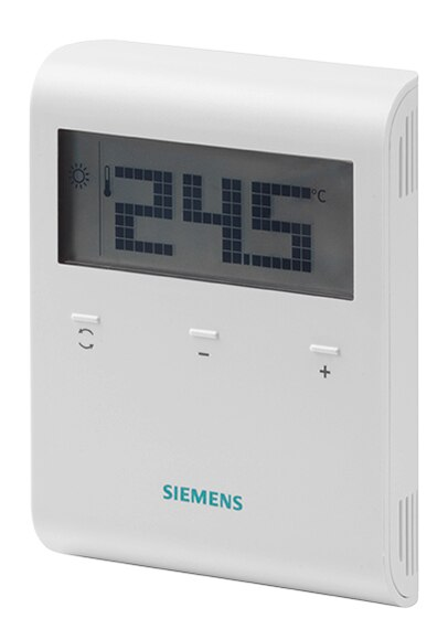 Termostato Digital Siemens Rdd 100 1 Xa Ref 16790151 Leroy Merlin