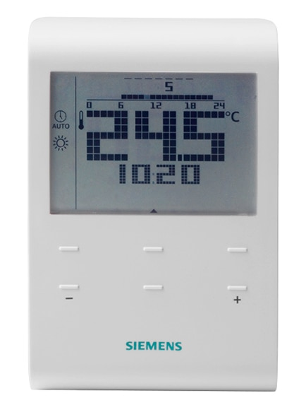 Cronotermostato Siemens Rde100 1 Xa Ref 16790193 Leroy Merlin
